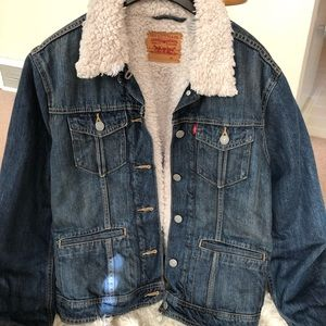 Levi's Sherpa Trucker Jacket XL
